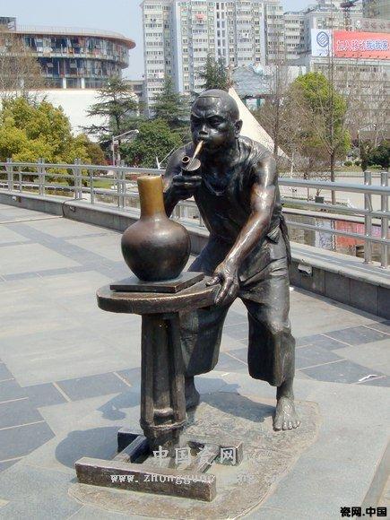 陶瓷大师的城市雕塑欣赏 图