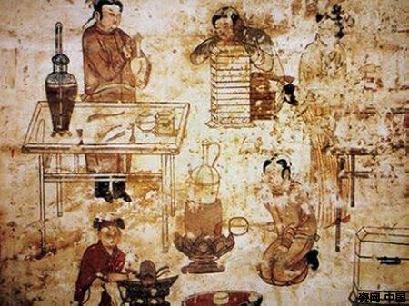 反映了当时人们喝茶的情景.-宋代茶道图片