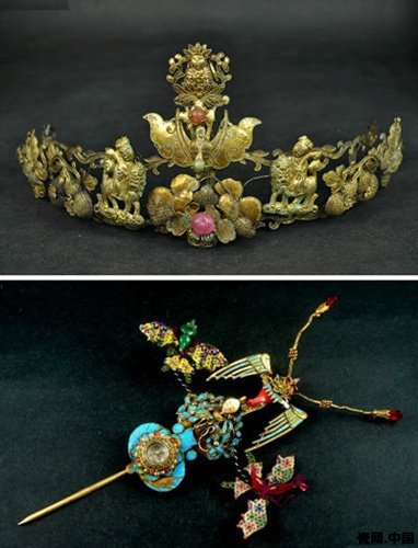 中国古代头饰欣赏〈一〉