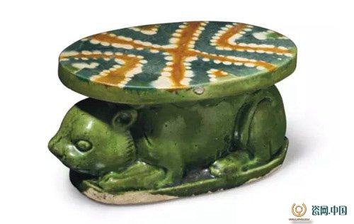 古代陶瓷雕塑小动物