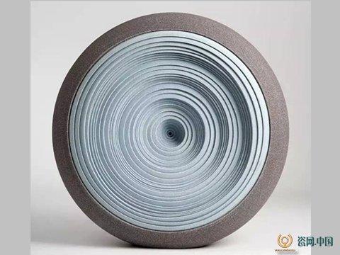 当代抽象陶瓷艺术作品