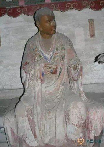 天台醉菩提济癫和尚-海内第一名塑 灵岩寺罗汉像